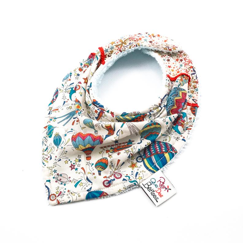 54c36893e76 Bavoir foulard Jules C - Rien que des bêtises - Boutique officielle