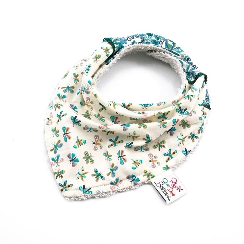 ec25e913982 Bavoir foulard Malo A - Rien que des bêtises - Boutique officielle