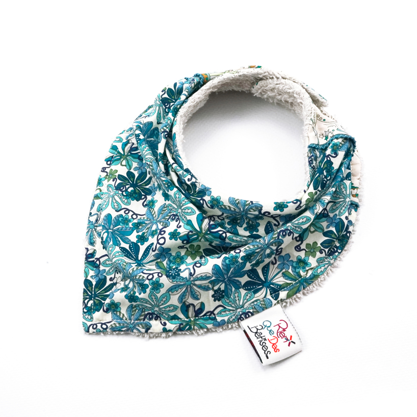 4bd54af2a36 Bavoir foulard Malo B - Rien que des bêtises - Boutique officielle