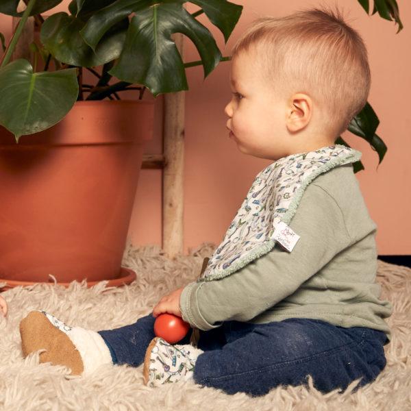 bavoir bébé rien que des bêtises