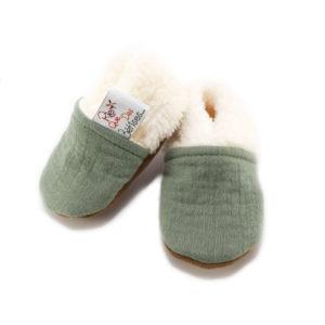chaussons bébé rien que des bêtises